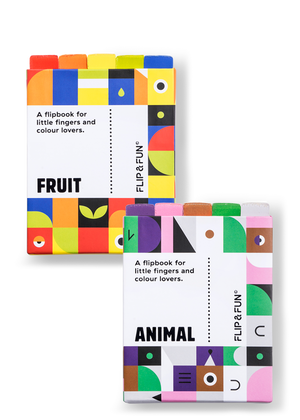 FLIP&FUN: Animal & Fruit Bundle