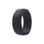 Boxed - Black Silicone Rings |  halobands