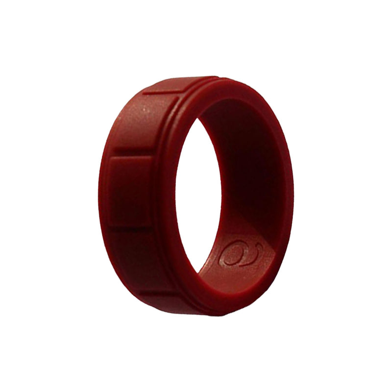 Boxed - Red Silicone Rings |  halobands