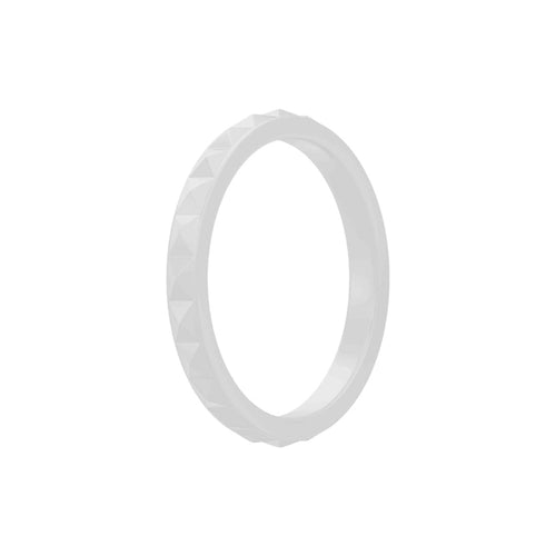 Geo - Grey Silicone Rings |  halobands