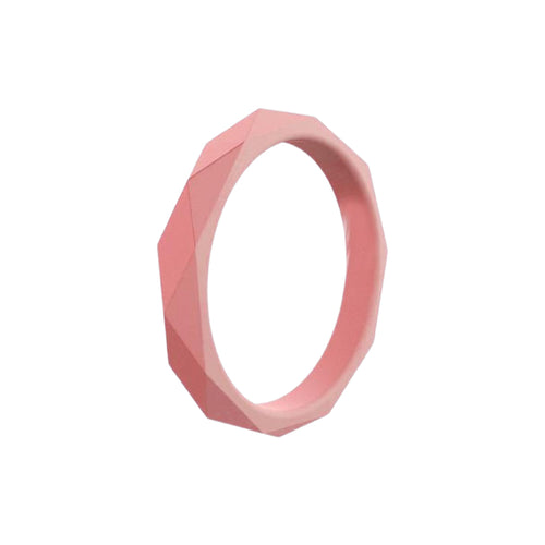 Prism Ring - Coral Silicone Rings |  halobands