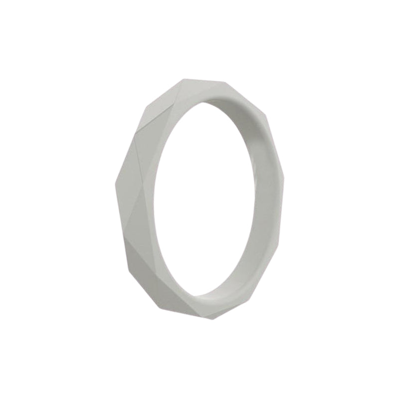 Prism Ring - Grey Silicone Rings |  halobands