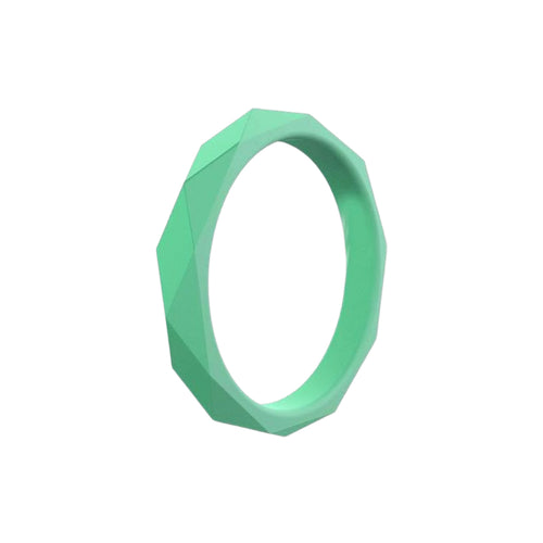 Prism Ring - Mint Silicone Rings |  halobands