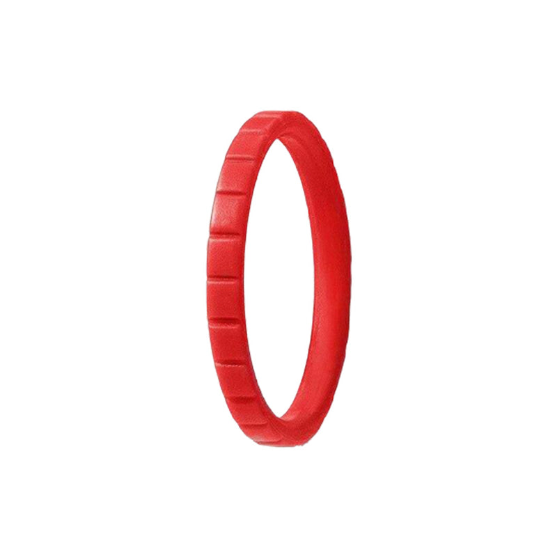 Narrow Rib - Red - halobands