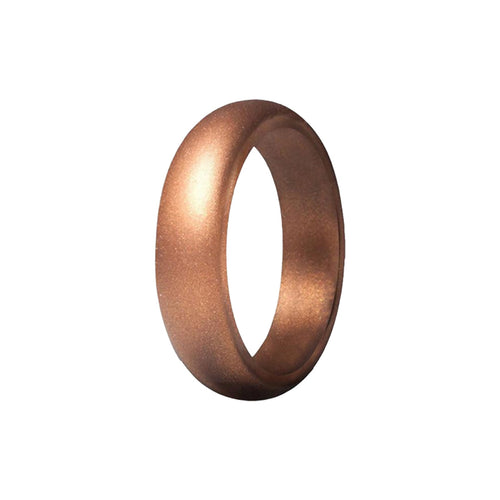 Smooth - Bronze Silicone Rings |  halobands