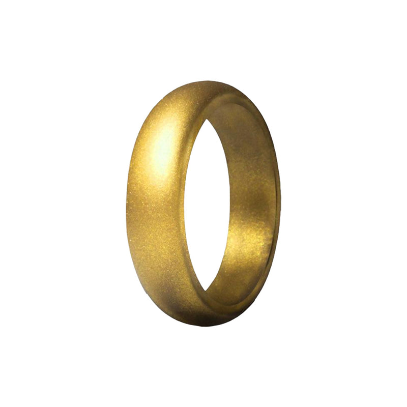 Smooth - Gold Silicone Rings |  halobands