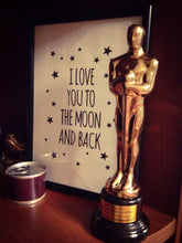 Load image into Gallery viewer, I Love You To The Moon And Back Canvas Art Print