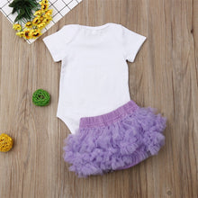 Load image into Gallery viewer, Infant Baby Girl Tutu Skirt (3-18M)