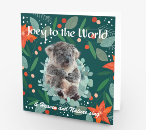 Christmas Card/Gift $35 - Joey to the World...