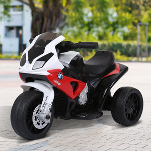 Electric Kids Ride on BMW Motorbike 6 V-Red