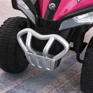 Quad Ride on Bike Pink/Black