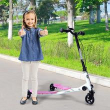Load image into Gallery viewer, Kids 3 Wheels Foldable Scooter-Pink/White