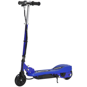 Folding Kids Electric Scooter, Age 7-14-Blue/Black