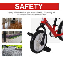 Load image into Gallery viewer, PP Toddlers Removable Stabiliser Balance Bike Red