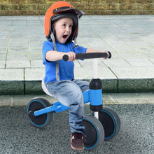 Load image into Gallery viewer, Toddler Plastic No-Pedal Walking Balance Bike Blue