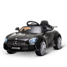 Load image into Gallery viewer, Benz GTR 12V Kids Electric Ride On Car - Black