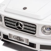 Load image into Gallery viewer, Mercedes Benz G500 12V Kids Electric Ride On Car - White