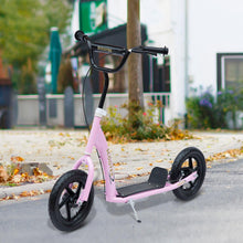 "Load image into Gallery viewer, 12"" Tyres Teen Push Stunt Bicycle Ride On Scooter-Pink"