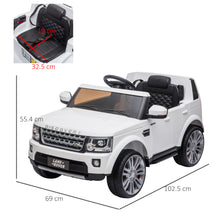 Load image into Gallery viewer, Landrover Kids Ride on Car 12 V Electric with Remote