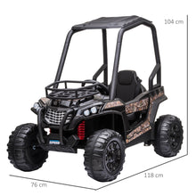 Load image into Gallery viewer, 12V Kids Electric Ride On Car Off-road - Black