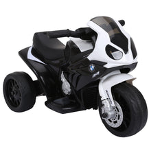 Load image into Gallery viewer, Electric Kids Ride on BMW Motorbike 6 V-Black