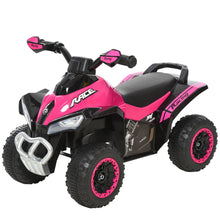 Load image into Gallery viewer, Quad Ride on Bike Pink/Black