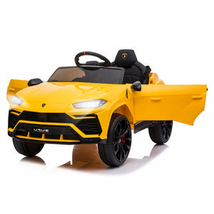 Lamborghini Urus 12V Kids Electric Ride On Car - Yellow