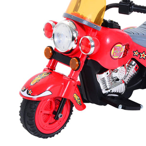 Kids Ride On Electric Motorcycle 6V-Red