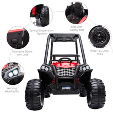 Load image into Gallery viewer, 12V Kids Electric Ride On Car Off-road - RED