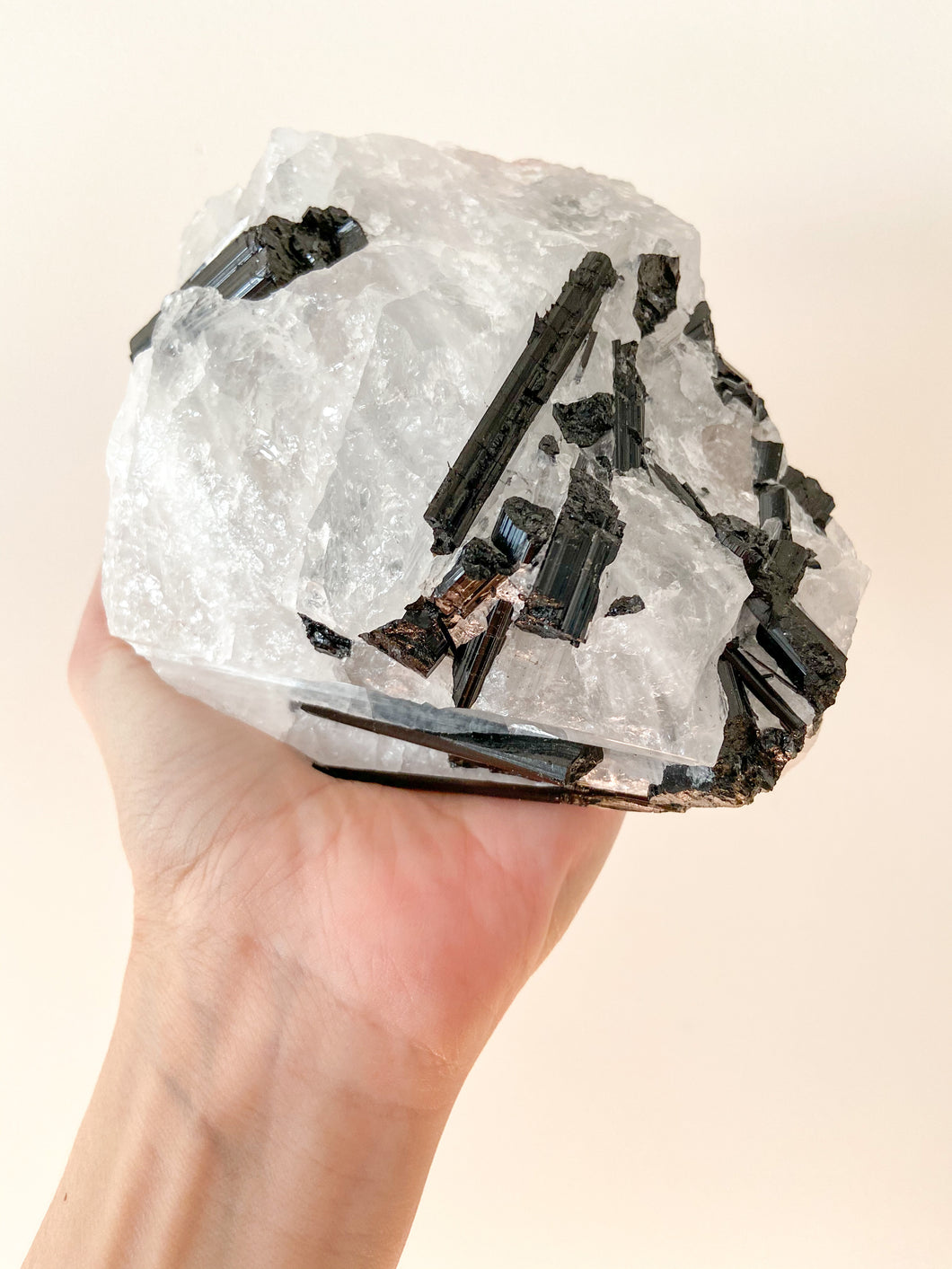 Black Tourmaline on Matrix - 1kg