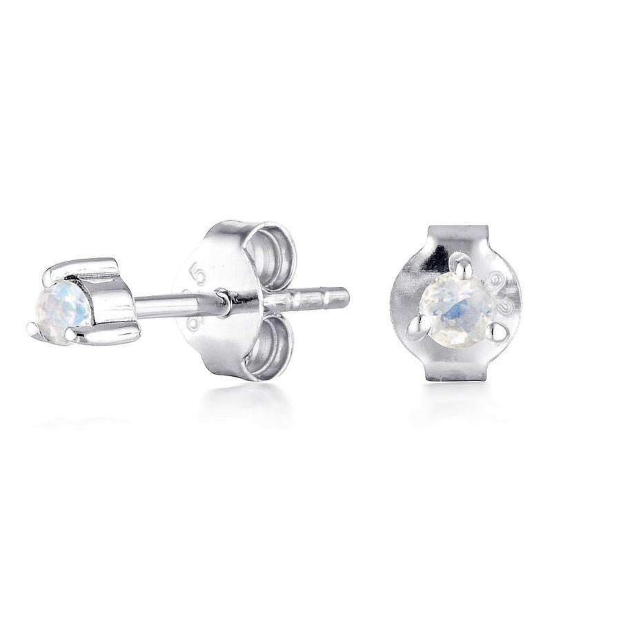 Prism Moonstone Studs by Static Jewellery