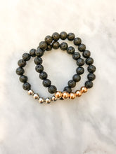 Load image into Gallery viewer, Lava Bead Bracelet
