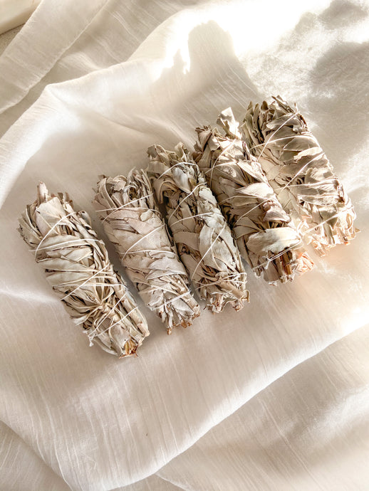 White Sage Smudge Stick - Medium