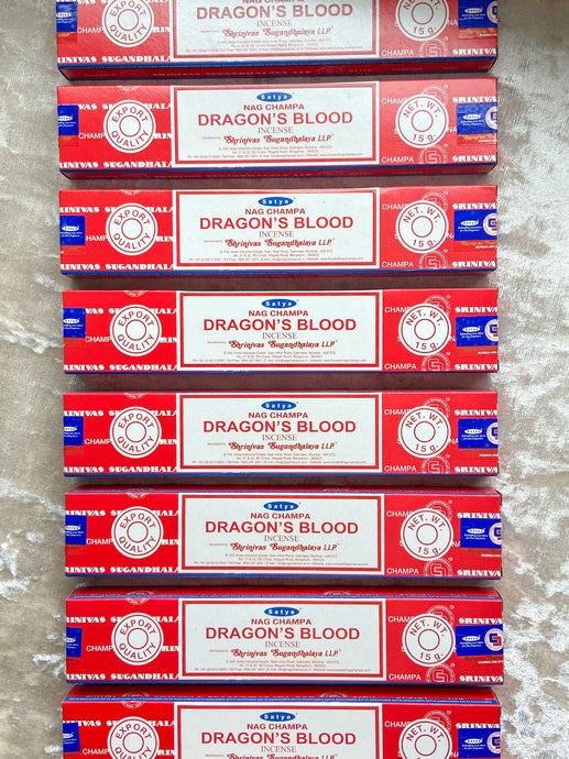 Dragon's Blood - Satya Masala Incense 15g