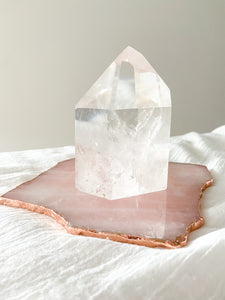 Clear Quartz Point - 970g