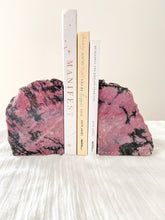 Load image into Gallery viewer, Rhodonite Bookends