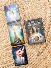 Load image into Gallery viewer, Queen of the Moon Oracle - Oracle Cards