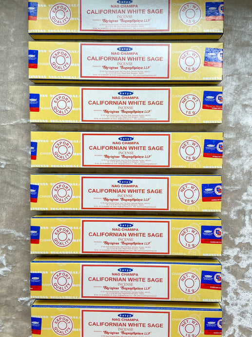 Californian White Sage - Satya Masala Incense 15g