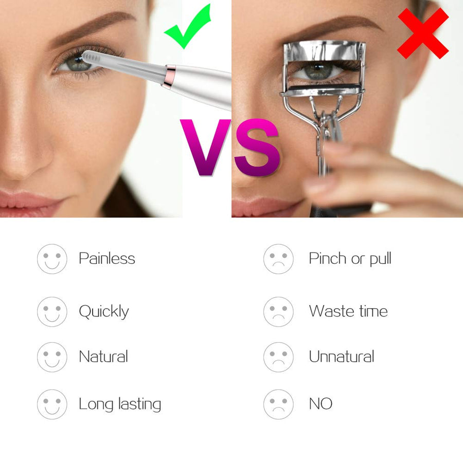 Silicone Heated Eyelash Curler