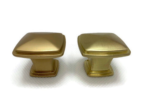 Cosmas Brushed Brass and Gold Champagne