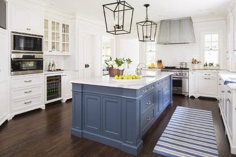 Blue Kitchen Island for blue kitchen ideas