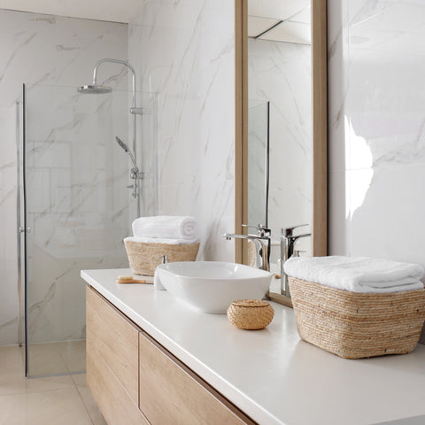spa bathroom baskets for storage