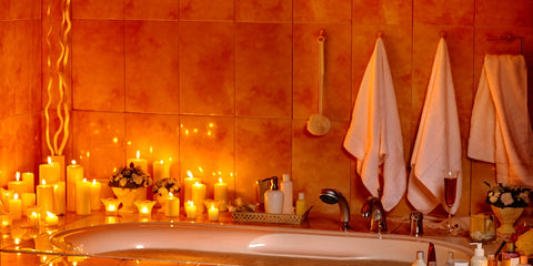 Bathroom Candles for Spa bathrooms