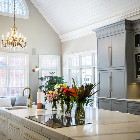 Grey-and-white-two-tone-kitchen-cabinets. Kitchen-design-trends