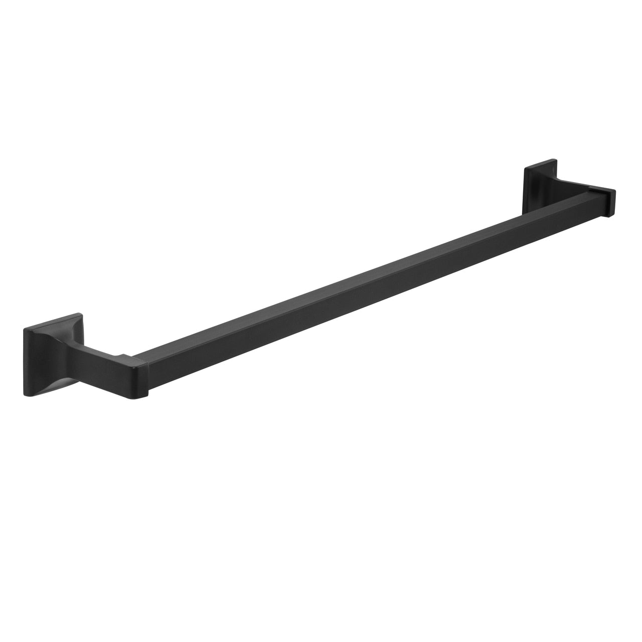 "Designers Impressions Eclipse Series Black 24"" Towel Bar"