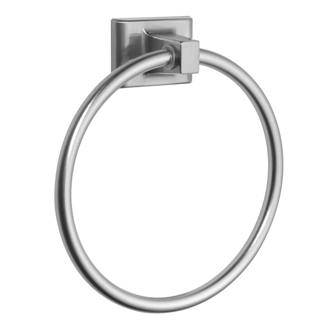 Designers Impressions Eclipse Series Satin Nickel Towel Ring