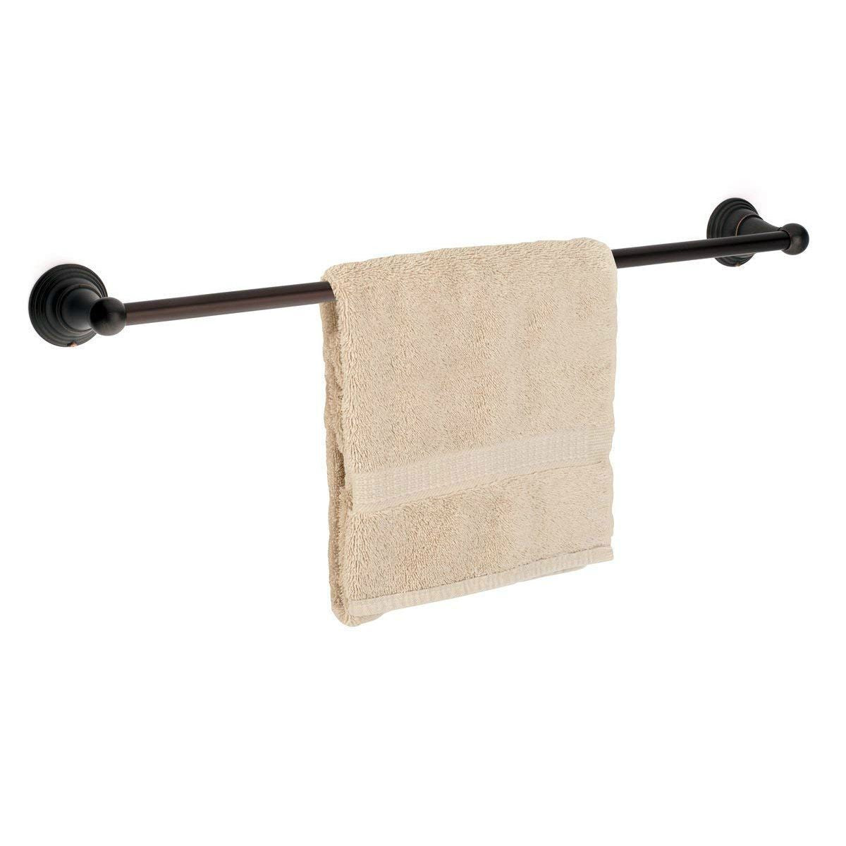 "Dynasty Hardware Muirfield 2230-ORB Oil Rubbed Bronze 30"" Single Towel Bar"