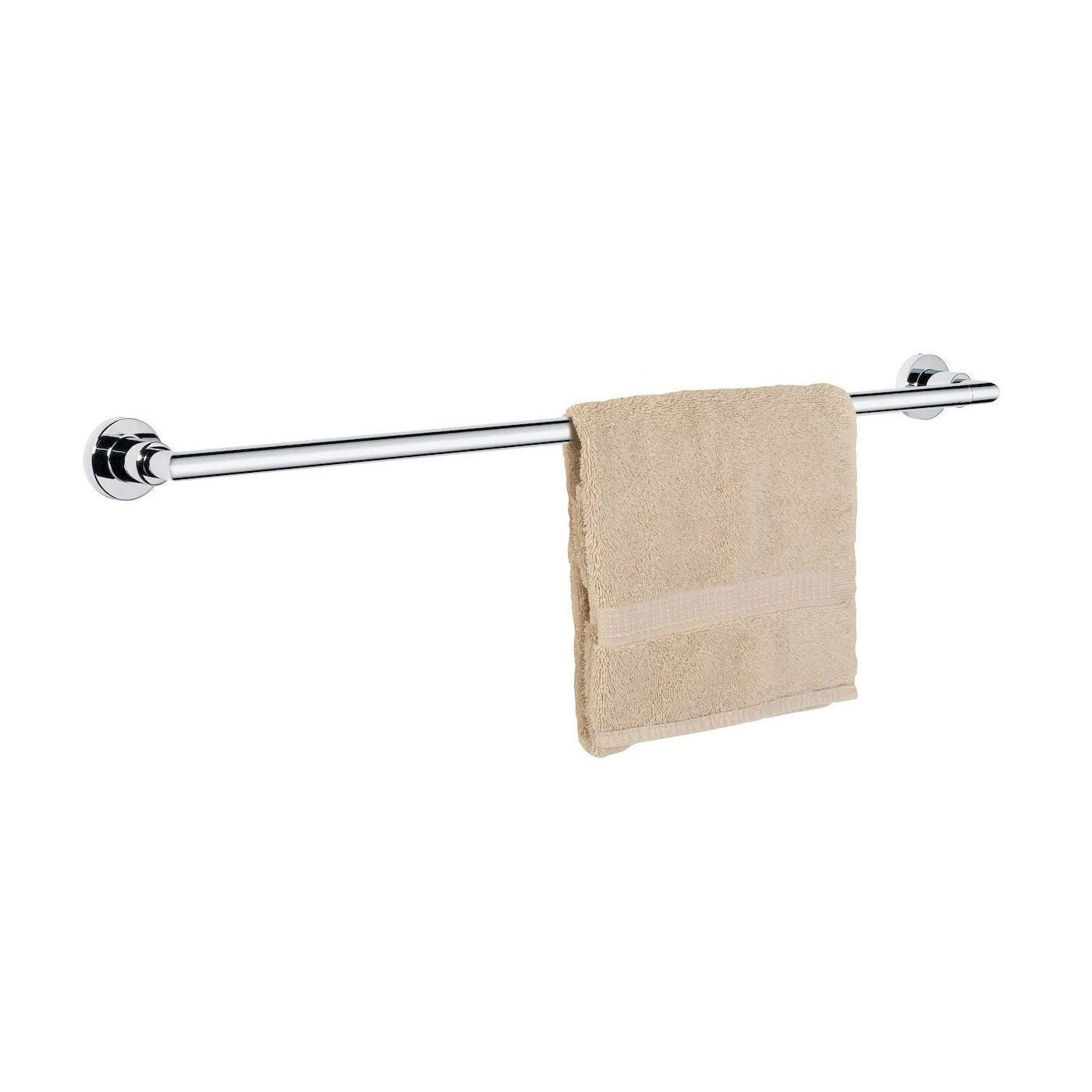 "Dynasty Hardware Manhattan 4002-CM Polished Chrome  24"" Single Towel Bar"