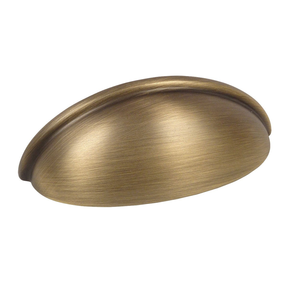 Cosmas 783BAB Brushed Antique Brass Cabinet Cup Pull - Cosmas