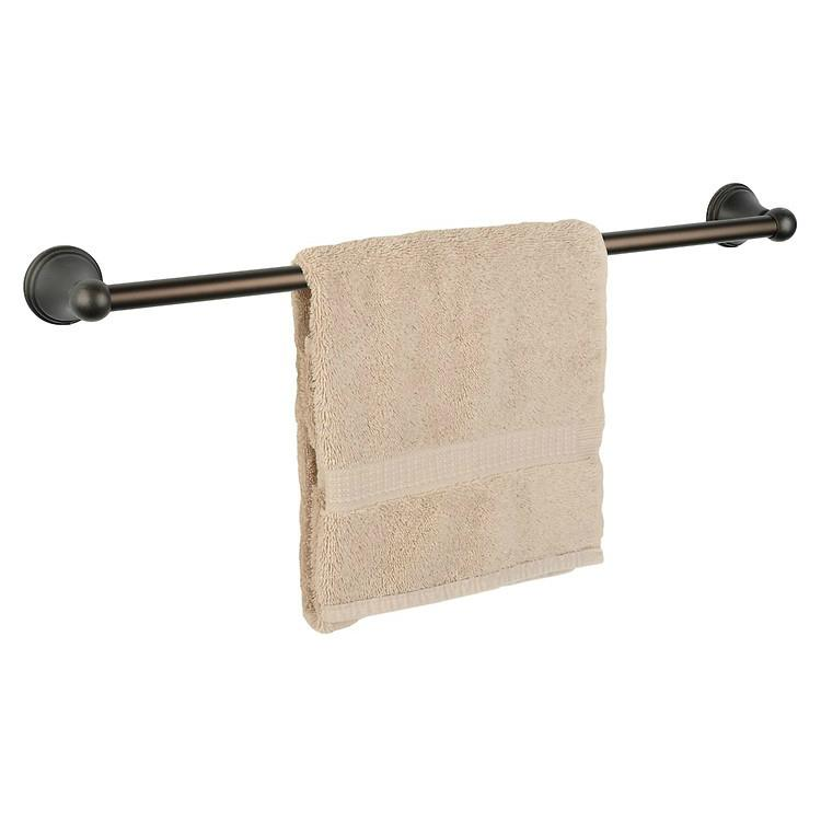 "Dynasty Hardware Bay Hill  9324-ORB Oil Rubbed Bronze 24"" Single Towel Bar"